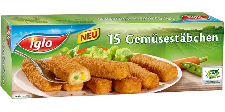 iglo Gemüsestäbchen
