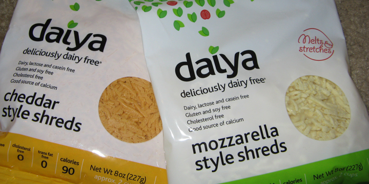 daiya - rein pflanzlicher Käse