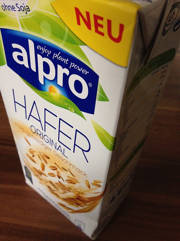 Alpro Haferdrink Packung
