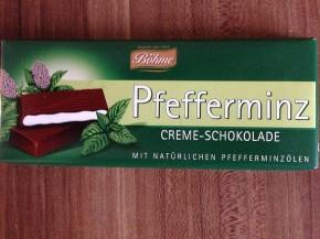 Böhme Pfefferminz Creme Schokolade