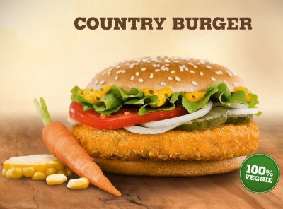 Country Burger von Burger King