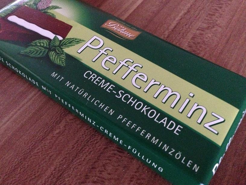 Pfefferminz Schokolade von Böhme