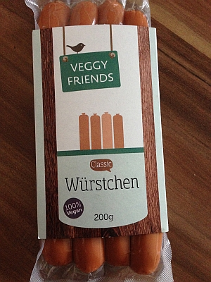 Veggy Friends Würstchen Classic