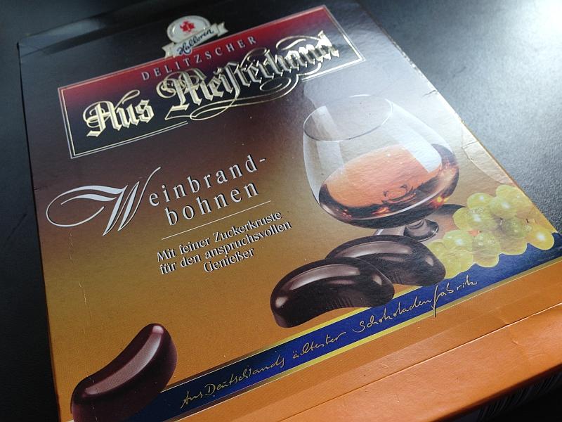 Halloren - Aus Meisterhand Weinbrandbohnen