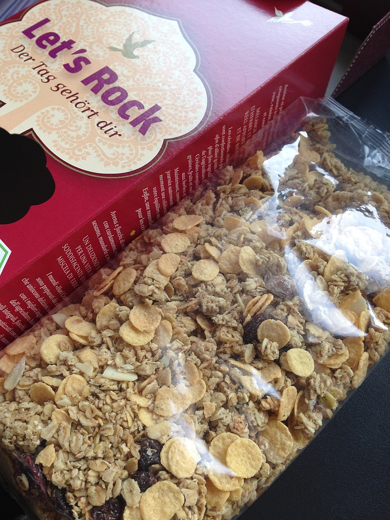 Hari Crunchy - Let´s Rock Müsli geöffnet