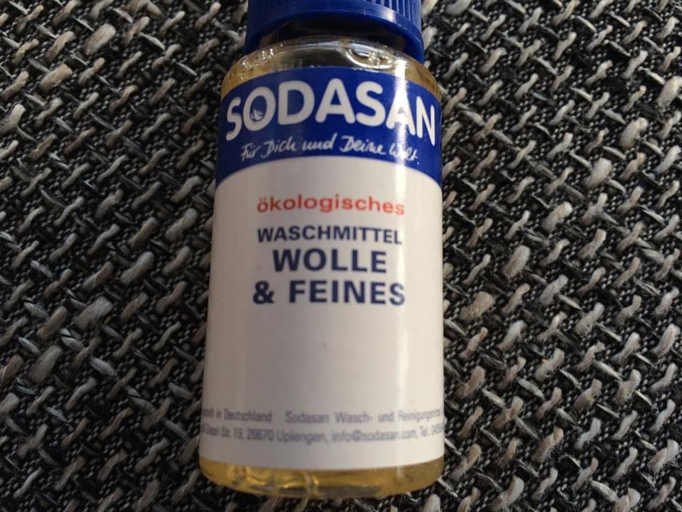 Sodasan Waschpulver Wolle & Feines