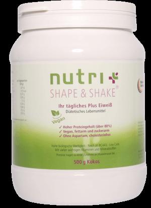 Veganer Proteinshake von Nutri+