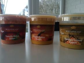 Roggenkamp Organics vegane Suppenauswahl