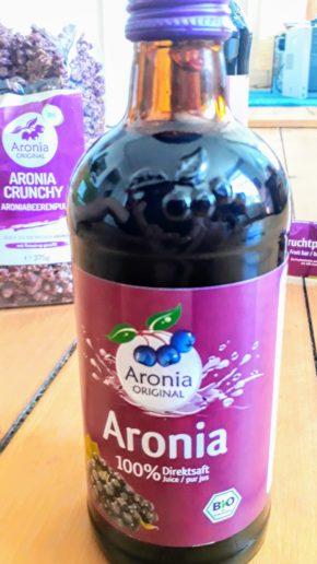Aronia Direktsaft von Aronia Original
