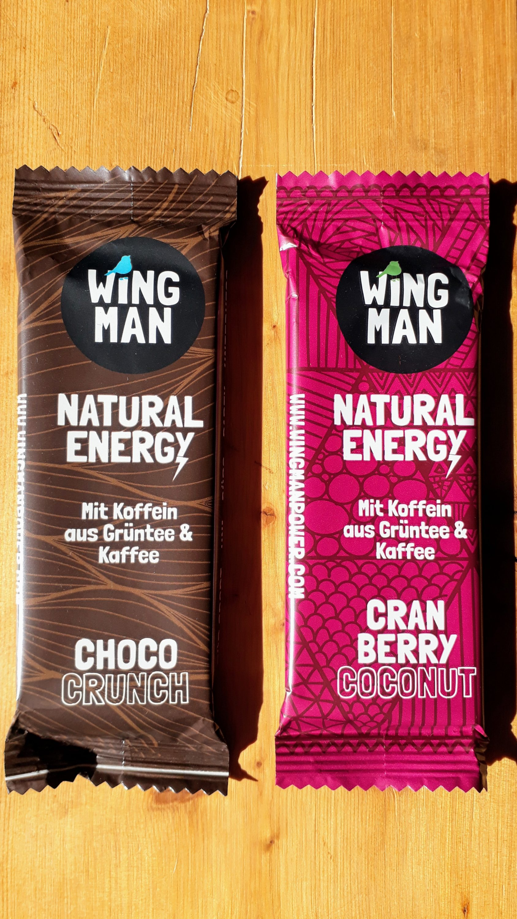 WINGMAN  Natural Energy Riegel