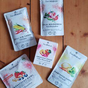 Frau Ultrafrisch - vegane Produktauswahl