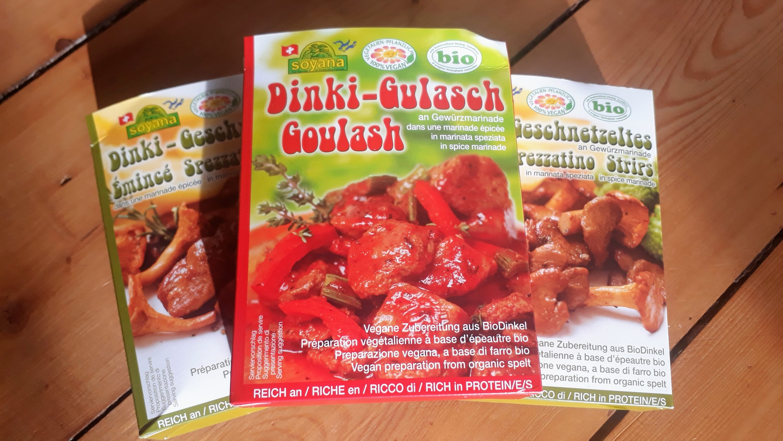 Dinki-Gulasch und Dinki-Geschnetzeltes