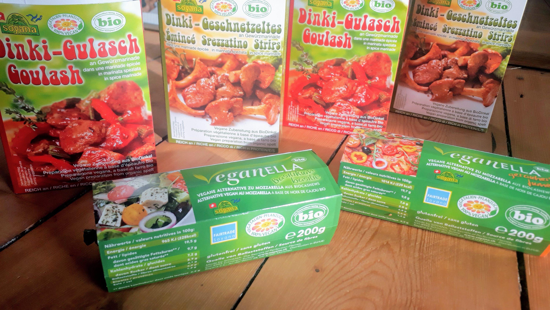 Hochwertige BioProdukte von Soyana