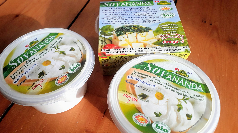 Vegane BioAlternative zu griechischem Käse