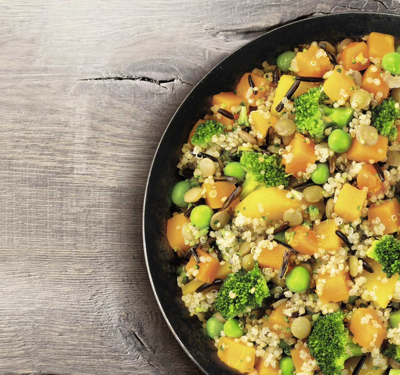 Veggie Love Kürbis Quinoa