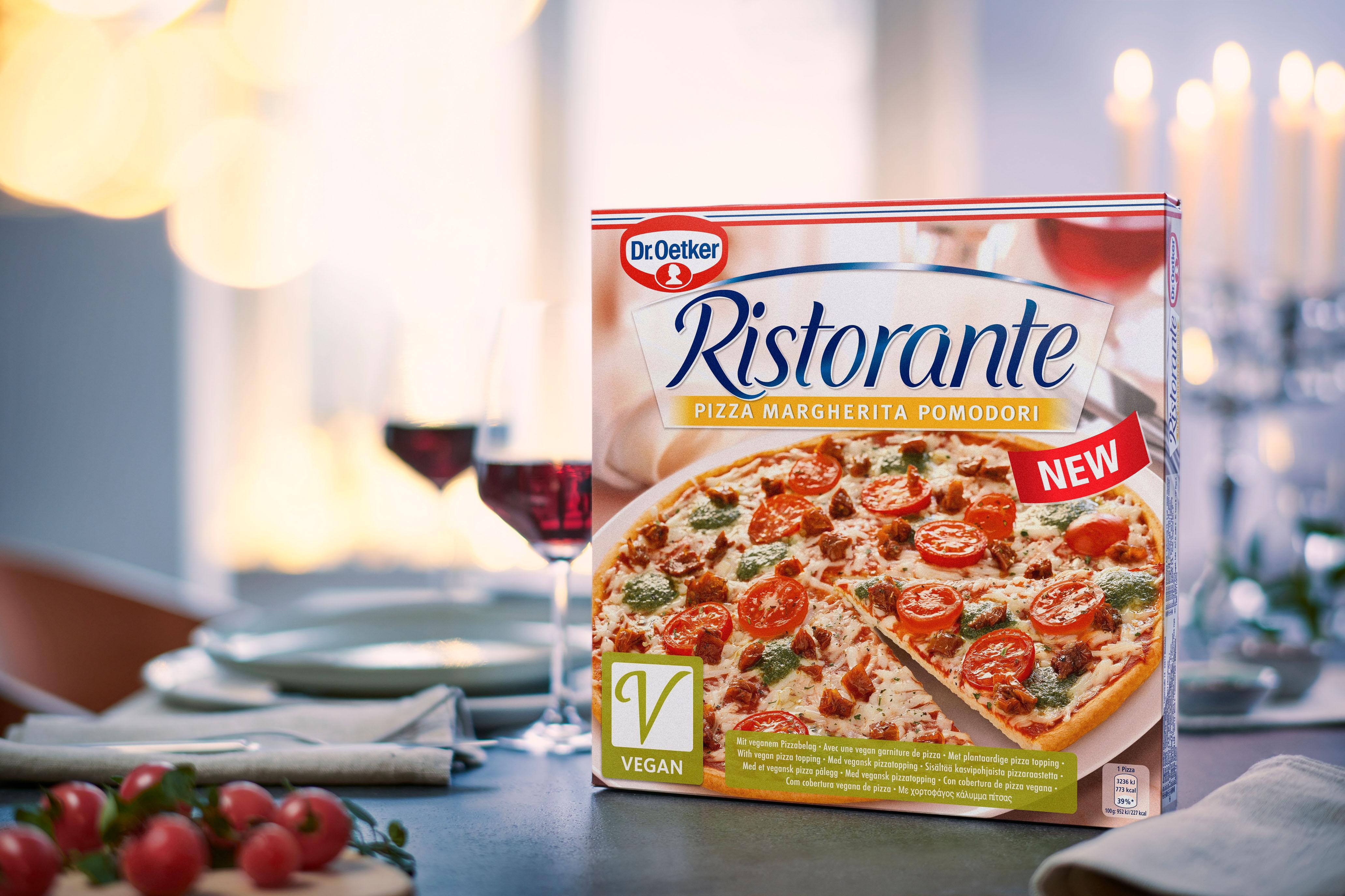 Die neue vegane Pizza von Dr. Oetker